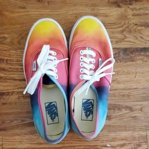 Vans Rainbow Colorimetry shoes unisex